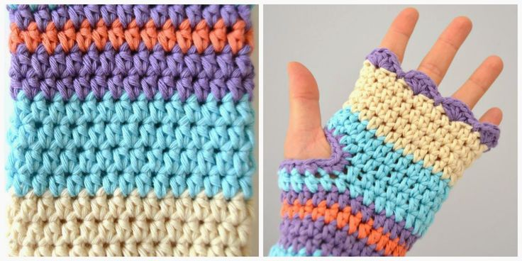 Today I show you the first crochet fingerless mitts that I've done.  They are very nice and very useful.  I add the pattern. I hope you l...