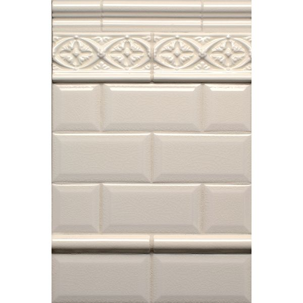 Hampton Bone Field Tiles Beveled Bone 3 X 6 Adex