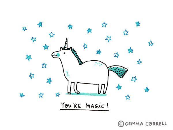 Unicorn magic, Gemma Correll