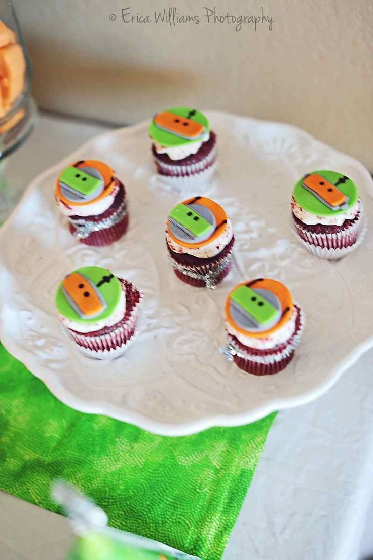 Robot Birthday Party Dessert Table [Boy Bash] - Spaceships and Laser Beams