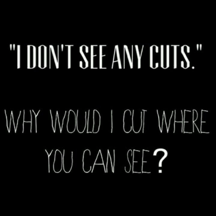 Sad Quotes About Cutting