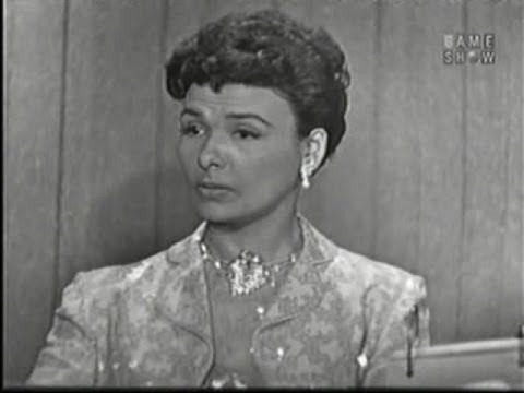 What's My Line? - Lena Horne; Ralph Bellamy [panel] (Mar 2, 1958)