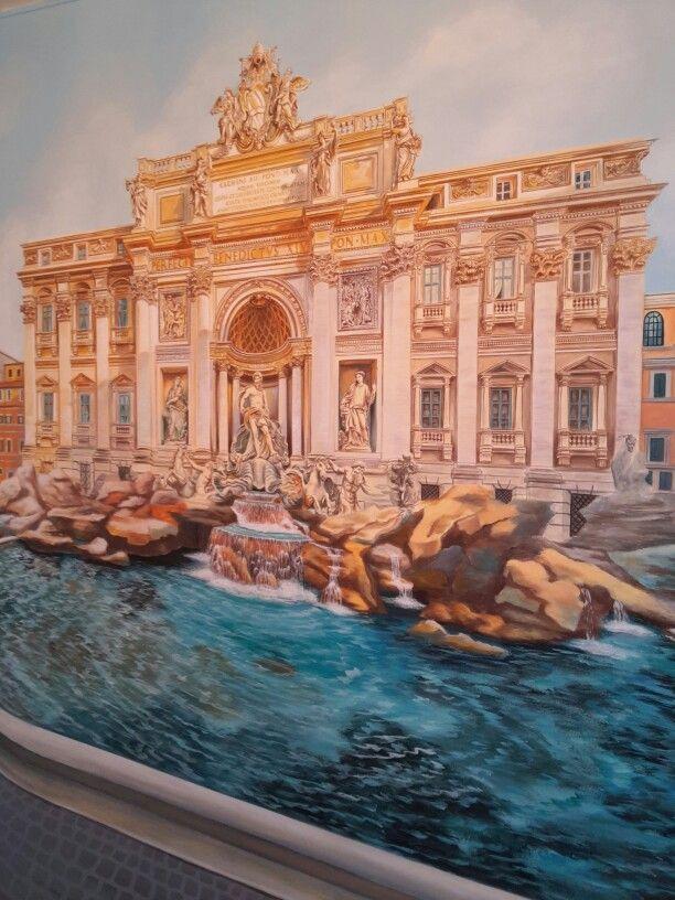 "Art - in - Life : Έργο_13c:""FONTANA_DI_TREVI: Το συντριβάνι των ευχών!""_Νίκαια"