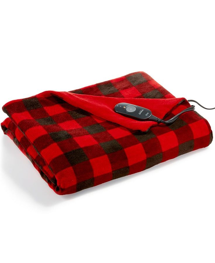 Cheaper on at costco-Slumber Rest Microplush Heated Throw by Sunbeam