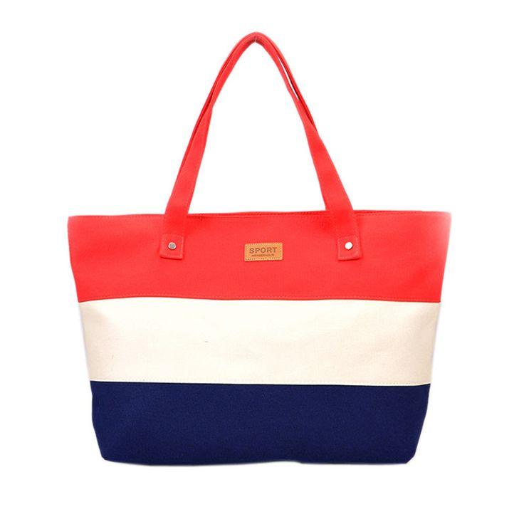 Women Canvas Beach Bag Color Printing lady Girls Handbag Shoulder Bag Casual Bolsa Shopping Messenger Bag Big Handbags Shoulder