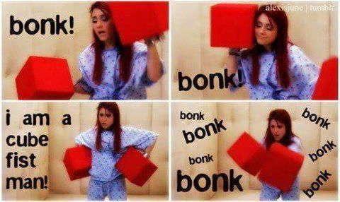 Lol Kat / Ariana Grande. Love her shes so funny(: lol love victorious! #show #ariana #love