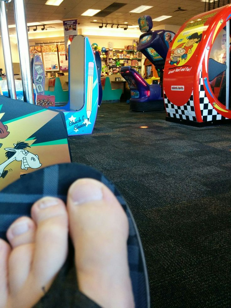 Chuckie Cheese-Toes
