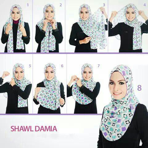 Simple hijab..