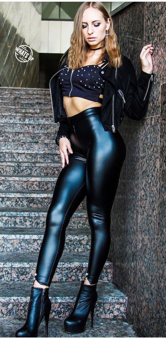 36f02624c40d10 Lederlady ❤ Leather Gloves, Leather Trousers, Trouser Pants, Skin Tight  Leggings,