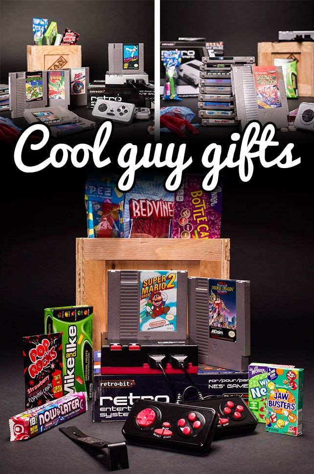 Is he a gamer? This gift will be an instant classic! Great for Valentine's Day!  #mancrates