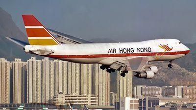 Photo of VR-HKN - Boeing 747-132(SF) - Air Hong Kong