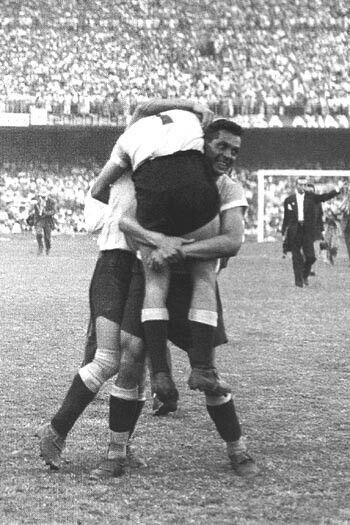 El mitico y legendario Maracanazo, Uruguay Campeón
