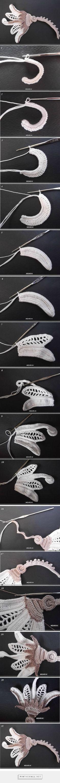 "Irish.          ochet_Tutoriales - ""Exceptional Irish Crochet tutorial!"" Enjoy from #KnittingGuru"