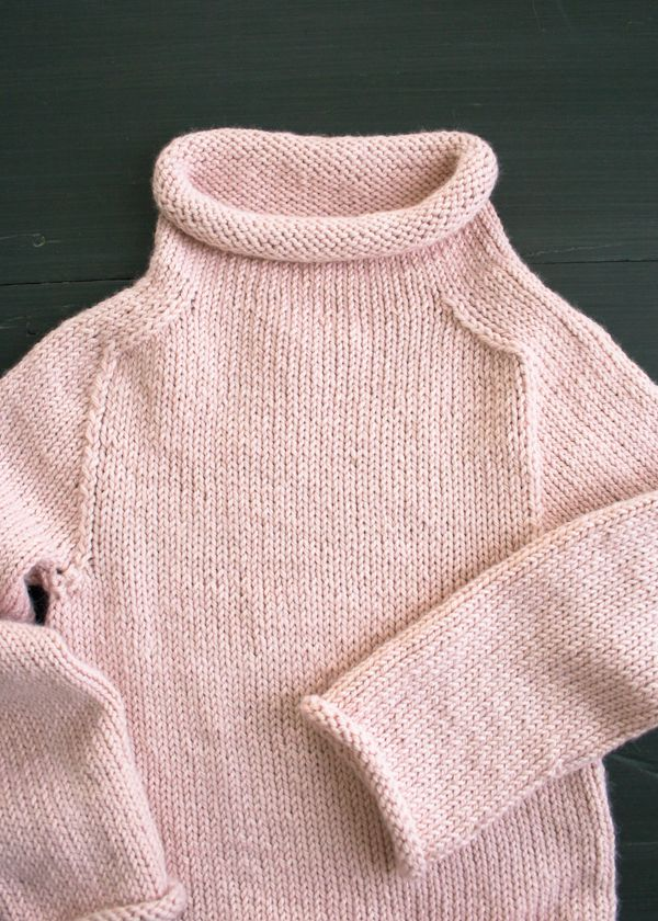 The Purl Soho Pullover in Alpaca Pure - The Purl Bee - Knitting Crochet Sewing Embroidery Crafts Patterns and Ideas!