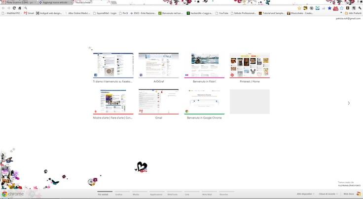 Chrome Start Page