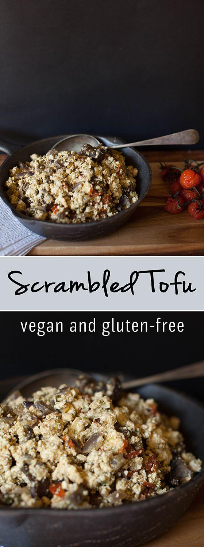 Scrambled Tofu  - Vegan & Gluten-Free