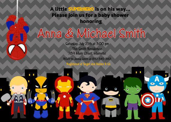 The 25 best Superhero baby shower ideas on Pinterest Superman