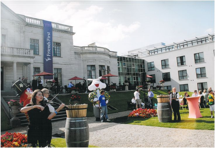 BBQ at The Radisson Blu St. Helen's Hotel in Dublin, Ireland. #radissonblusthelens #radissonblu #party #bbq #gardenparty