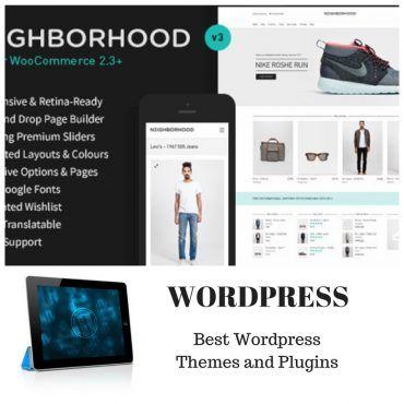 Neighborhood Responsive MultiPurpose Shop Theme