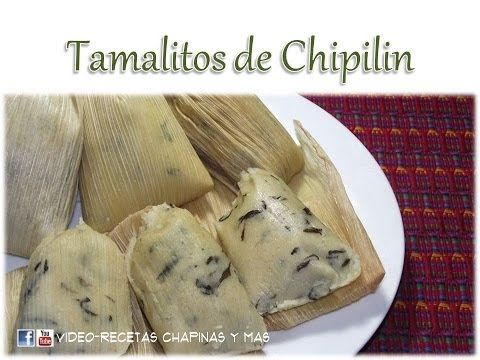 ▶ Receta Tamalitos De Chipilin Guatemala - YouTube