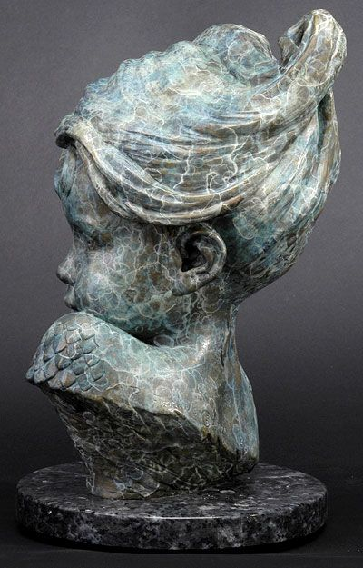 Philippe Faraut | Child of Atlantis - 2002 (Bronze)