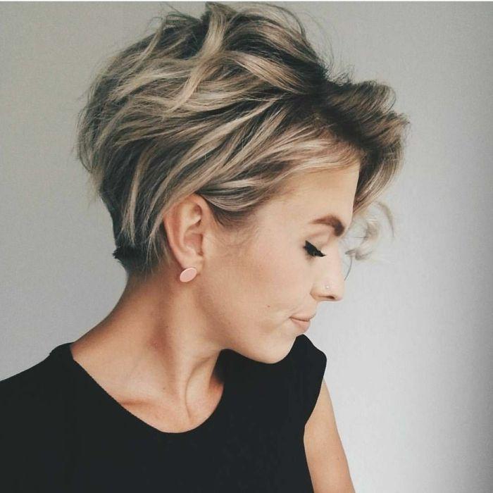 1001 Ideen Zum Thema Welche Frisur Passt Zu Mir Unordentliche Frisur Haarschnitt Kurzhaarfrisuren