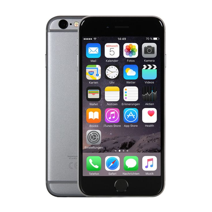 """notebooksbilliger """"Apple iPhone 6s 32GB Space Grau [11,94cm (4,7"""""""") Retina HD Display, iOS 10, A9, 12MP, 3D-Touch]"""": Item…%#Quickberater%"""