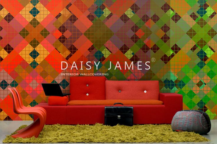 DAISY JAMES wallcover