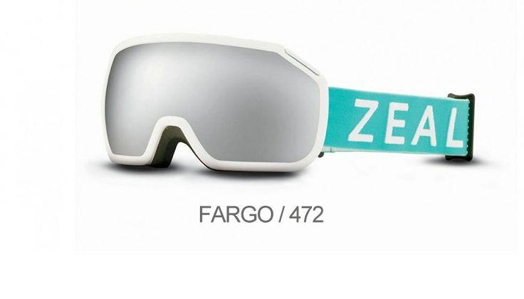ZEAL OPTICS FARGO/472 Παρέχοντας εξαιρετική περιφερειακή όραση και πρωτοποριακό σχεδιασμό η μάσκα σκι Fargo αποτελεί το νέο σημείο αναφοράς για τους επαγγελματίες του σκι.