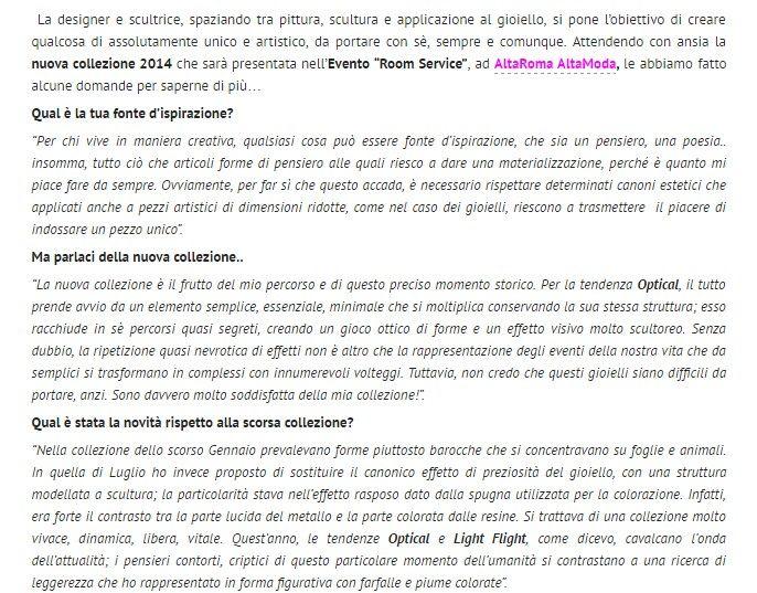 Patrizia Corvaglia Gioielli | moda | lusso | eccellenza www..com/2014/01/25/patrizia-corvaglia/