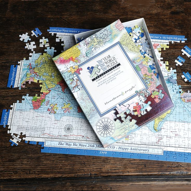 The 25 best world map puzzle ideas on pinterest come fly with i just love it personalised world map jigsaw puzzle personalised world map jigsaw puzzle gift details a beautifully made map jigsaw puzzle featuring a gumiabroncs Image collections