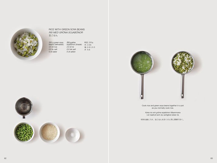 Love the design, layout and thought behind this. Guide to Foreign Japanese Kitchen by Moé Takemura (found on Yatzer)