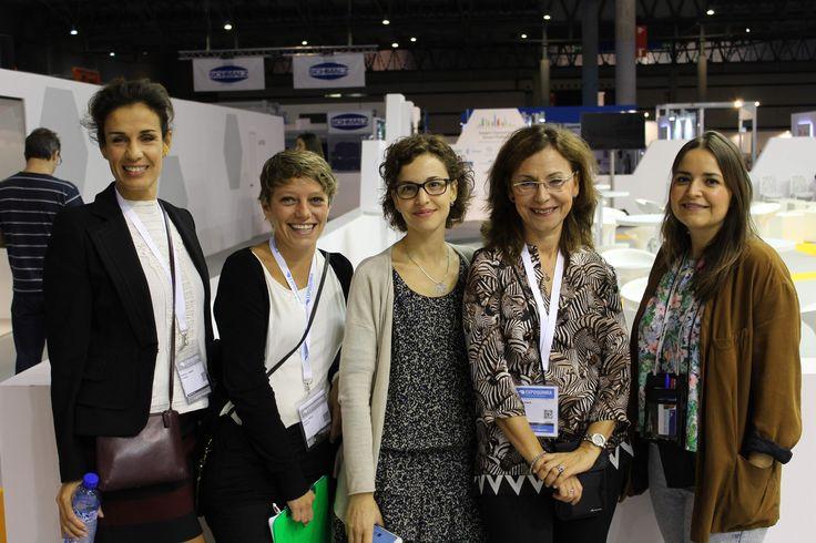 Bea, María, Esmeralda, Ángela y Helena. Feique, Fira y MA3 unidos por un proyecto