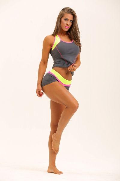 Női fitness kerek nyakú trikó