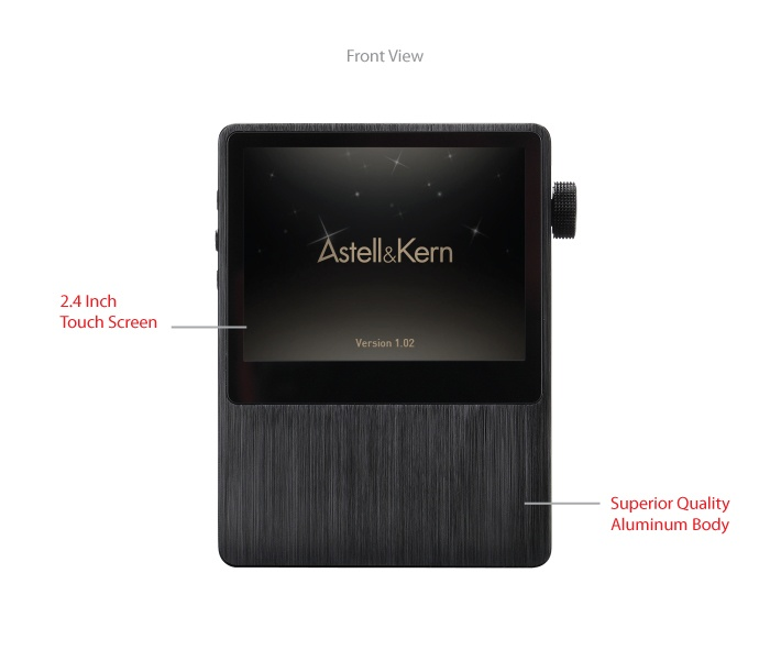 Astell & Kern AK100 - Front