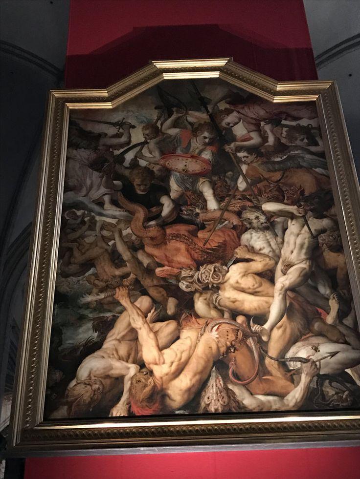 IMG_8219 Frans Floris. Падение мятежных ангелов.