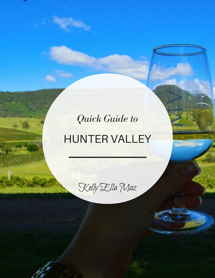 Quick Guide to Hunter Valley Cover