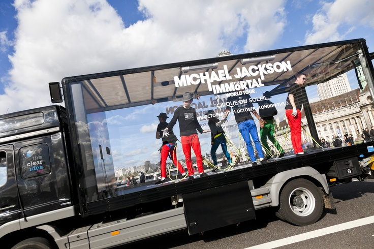 Activating the UK's first mobile dance-off truck to promote Cirque du Soleil's Michael Jackson show in London