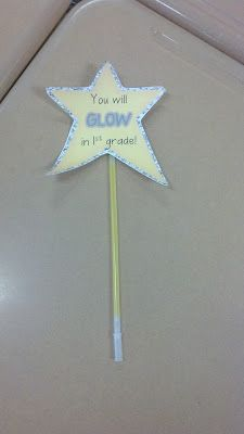 Fun in First Grade: doing this for either first day or open house for parents to take to child!