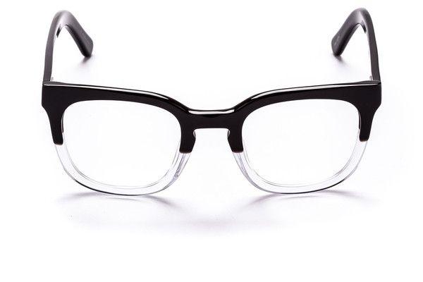 Black and Crystal Oversized NOAH Optical Glasses - SUNDAY SOMEWHERE