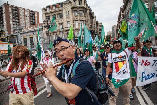 Dünyadan Çeviri ///  Via Campesina 7. konferansı sonuçlandı: Bask Ülkesi Deklarasyonu