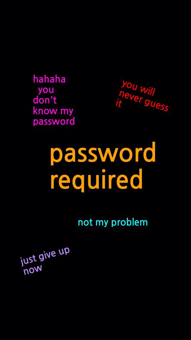19 Best Password Wallpapers Images On Pinterest