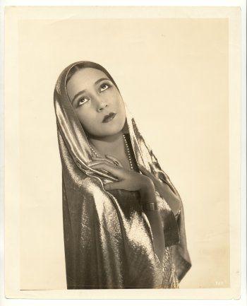 Portrait of Dolores del Rio, 1920's