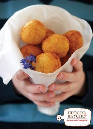 Просто&Вкусно - Завтраки - Творожные пончики