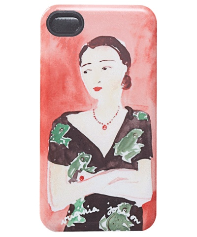 Virginia Johnson iPhone case, portrait