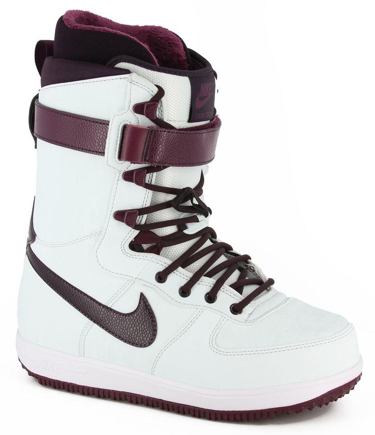 Nike Snowboarding Women's Zoom Force 1 Snowboard Boots -  windchill/bordeaux/white/port