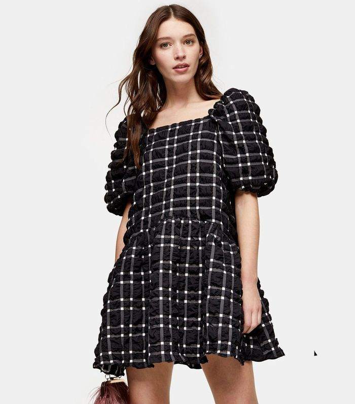 36++ Black and white check dress topshop inspirations