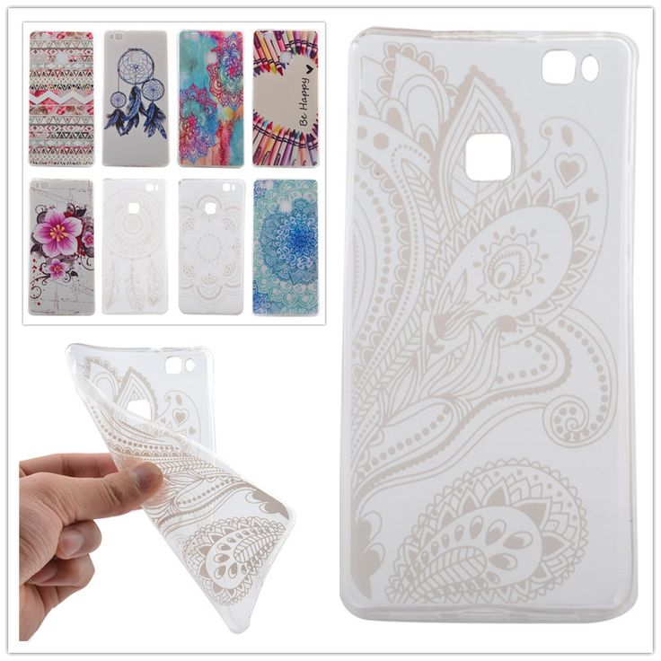 2016 Soft TPU Protector Case For Coque Huawei P9 Lite Case Silicon 5.2 Inch Back Cover For Fundas Huawei P9 Lite Phone Case