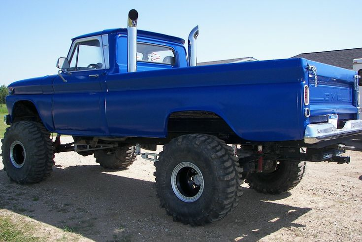 Chevy Trucks Lifted With Stacks 17 Best images about 6...
