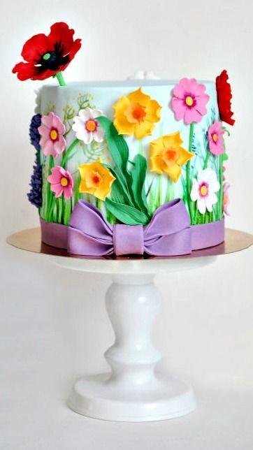 Wildflowers Cake